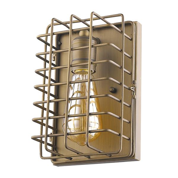 Acclaim Lighting Lynden 9-in Brass Wall Sconce