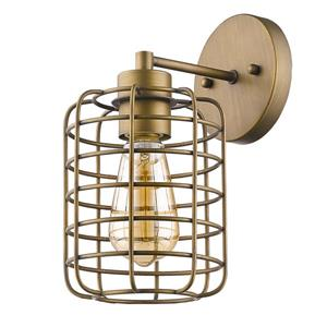 Acclaim Lighting Lynden 11.25-in Brass Wall Sconce