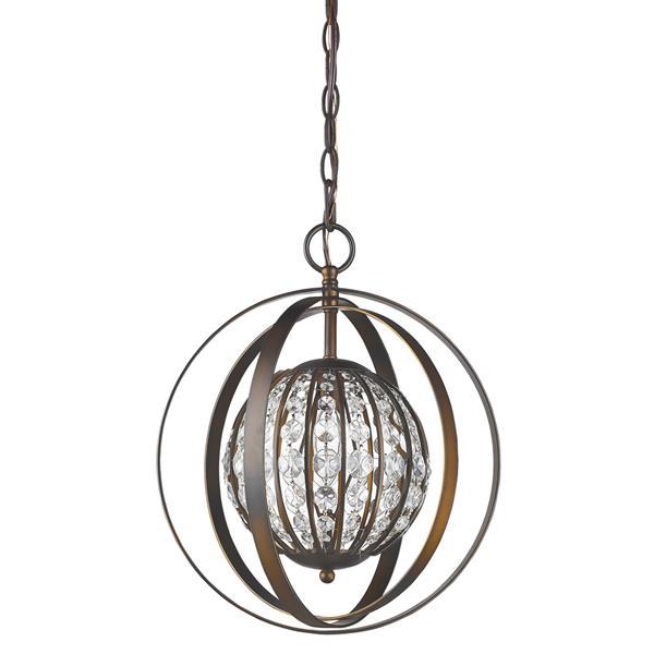 Acclaim Lighting Olivia 16-In Oil Rubbed Bronze Pendant Light