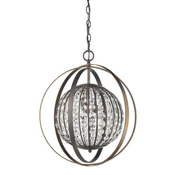 Acclaim Lighting Olivia 21-In Bronze Pendant Light