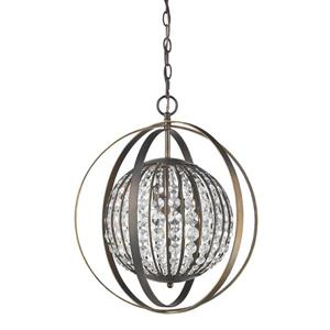 Acclaim Lighting Olivia 21-In Bronze Pendant Light