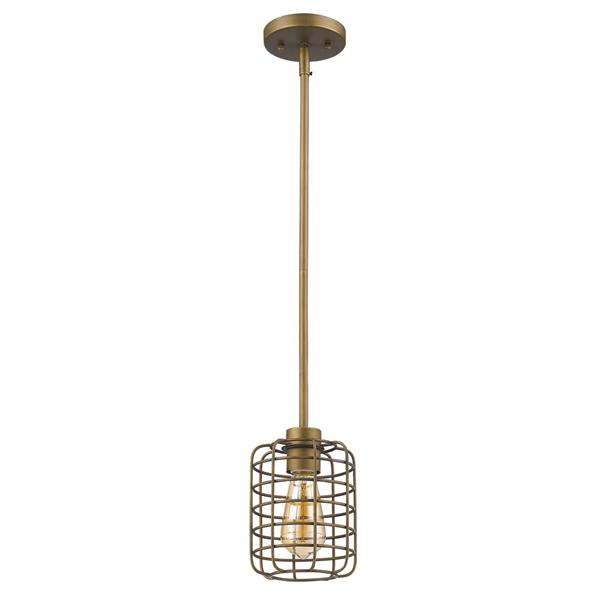 Acclaim Lighting Lynden 8.25-In Matte Chrome Pendant Light