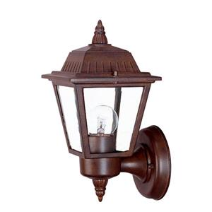 Acclaim Lighting Builders' Choice 10-in x 5.50-in Brown Wall Mounted Lantern