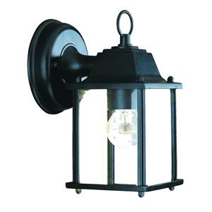 Acclaim Lighting Builders' Choice 8.50-In x 4.75-In Matte Black Wall Mounted Lantern