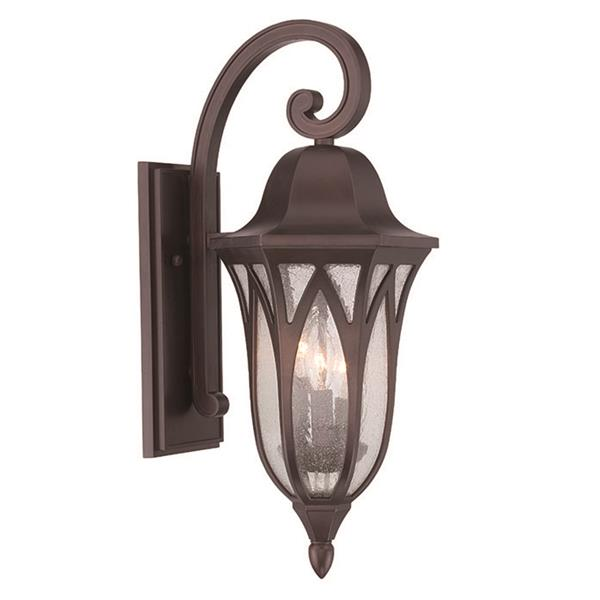 Acclaim Lighting Milano 22.00-In x 9.00-In Architectural Bronze Wall Mounted Lantern