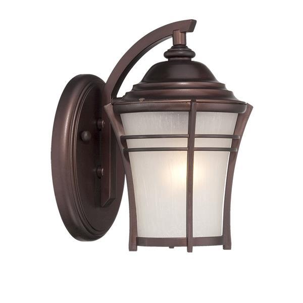 Acclaim Lighting Vero 14-in Architectural Bronze MarbleX Outdoor Wall Lantern