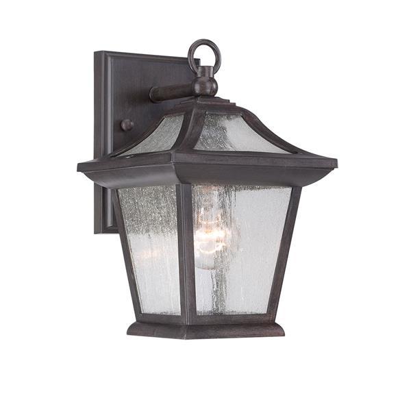 Acclaim Lighting Aiken 11-in Black Coral Outdoor Lantern