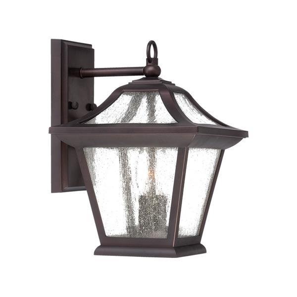 Acclaim Lighting Aiken  12.62-in Architectural Bronze Outdoor Lantern