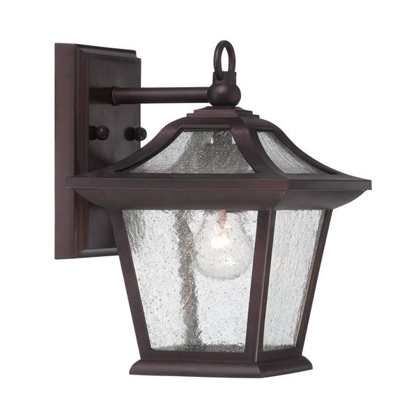 Acclaim Lighting Aiken 11-in Architectural Bronze Outdoor Lantern
