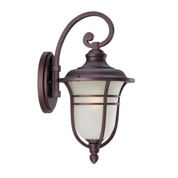 Acclaim Lighting Montclair 21.25-in Architecural Bronze Aluminum Outdoor Wall Lantern