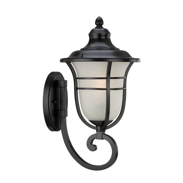 Acclaim Lighting Montclair 19.50-In x 9.00-In Matte Black Wall Mounted Lantern