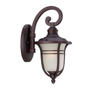 Acclaim Lighting Montclair 13.75-In x 7.00-In  Architectural Bronze Wall Mounted Lantern