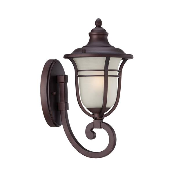 Acclaim Lighting Montclair 15.75-In x 7.00-In  Architectural Bronze Wall Mounted Lantern