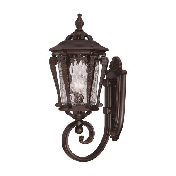 Acclaim Lighting Stratford 23-in Bronze Aluminum Upward Outdoor Wall Lantern
