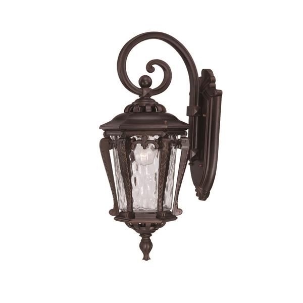 Acclaim Lighting Stratford 23-in Architecural Bronze Aluminum Outdoor Wall Lantern