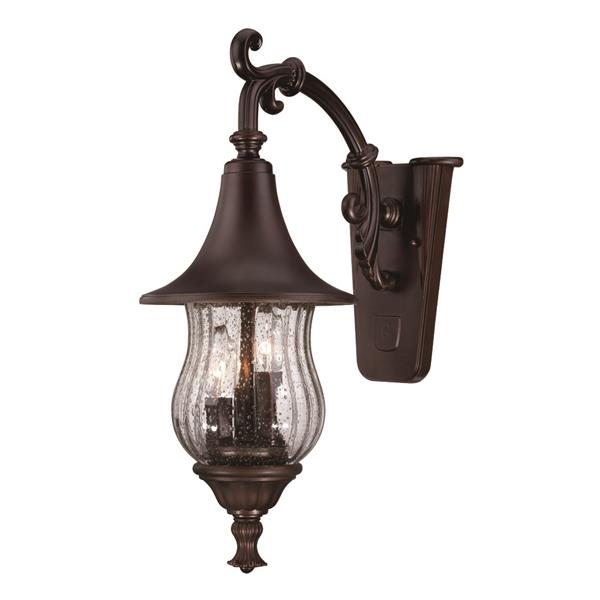 Acclaim Lighting Del Rio 21-in Bronze 3-Light Downward Mounted Outdoor Wall Lantern