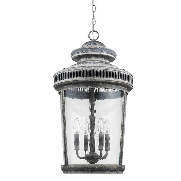 Acclaim Lighting Kingston 26.25-in Gray 4-Light Chandelier