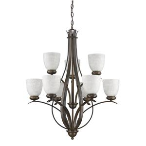 Acclaim Lighting Alana 9-Light 34.25-in Bronze Chandelier