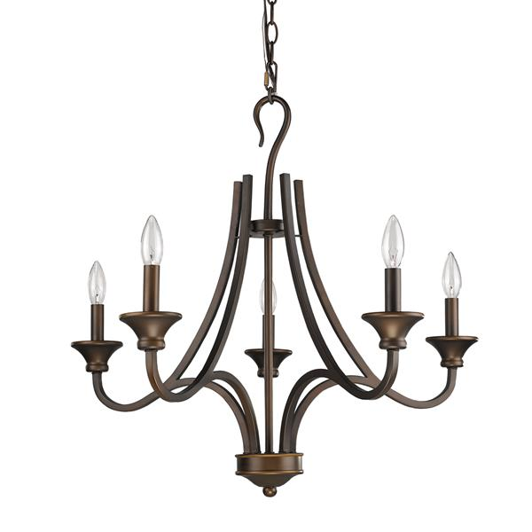 Acclaim Lighting Michelle 5-Light Bronze Chandelier