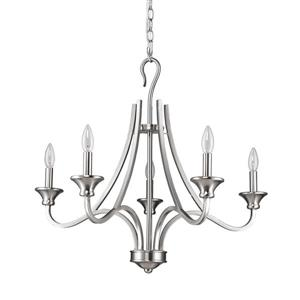 Acclaim Lighting Michelle 5-Light Nickel Chandelier