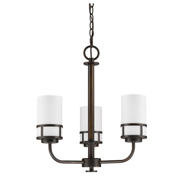 Acclaim Lighting Alexis Chandelier 3 Lights 20-in Bronze
