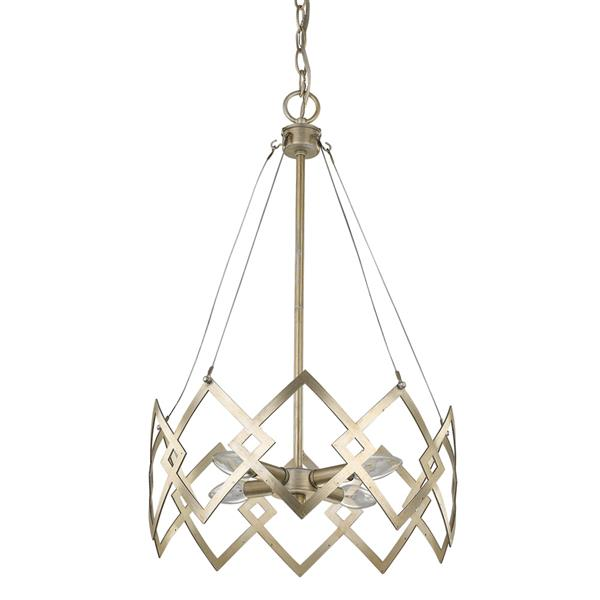 Acclaim Lighting Nora 4-Light Gold Chandelier