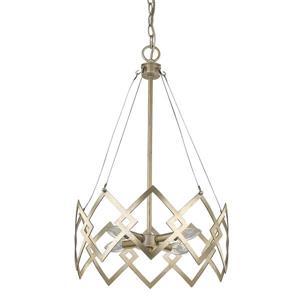 Acclaim Lighting Nora 4-Light Gold Chandelier