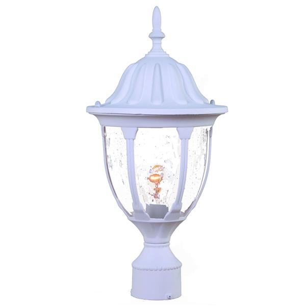 Acclaim Lighting Suffolk Outdoor Lantern  - 1 Bulb - Cast aluminum - White