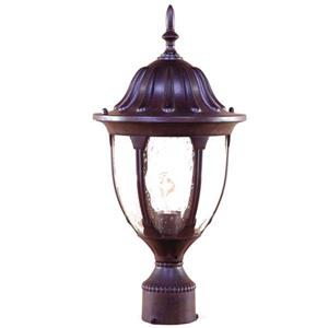 Acclaim Lighting Suffolk Outdoor Lantern  - 1 Bulb - Cast aluminum - Brown