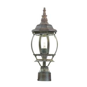 Acclaim Lighting Chateau Outdoor Lantern  - 1 Bulb - Cast aluminum - Brown