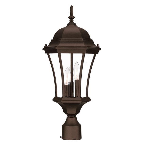Acclaim Lighting Bryn Mawr Outdoor Lantern  - 3 Bulbs - Cast aluminum - Brown