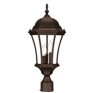Acclaim Lighting Bryn Mawr Outdoor Lantern  - 3 Bulbs - Cast aluminum - Brown