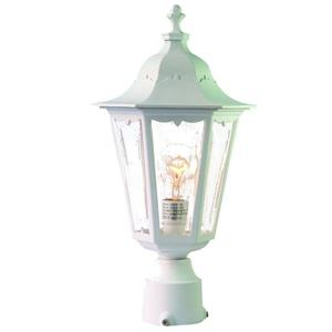 Acclaim Lighting Tidewater Outdoor Lantern  - 1 Bulb - Plastic - White