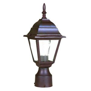 Acclaim Lighting Builders'  Choice Outdoor Lantern  - 1 Bulb - Brown