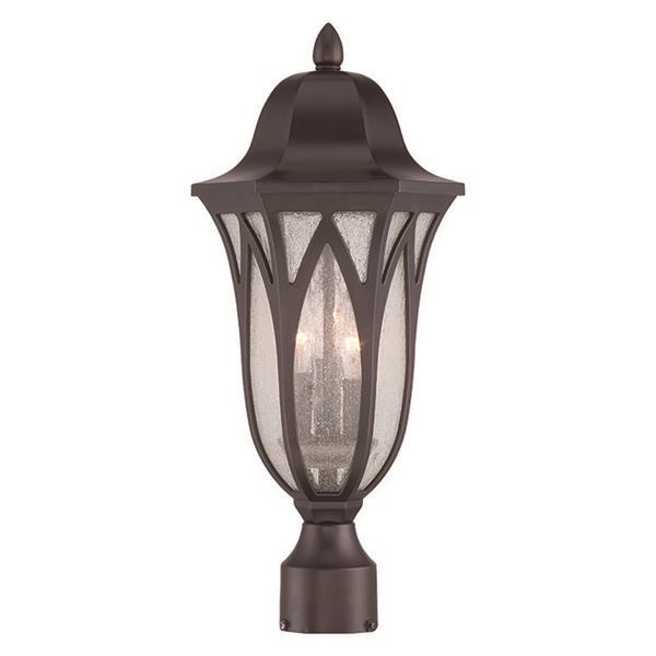 Acclaim Lighting Milano Outdoor Lantern  - 3 Bulbs - Bronze