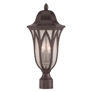 Acclaim Lighting Milano Outdoor Lantern  - 3 Bulbs - Bronze