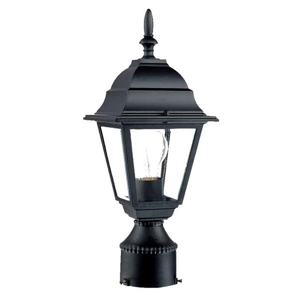 Acclaim Lighting Builders'  Choice Outdoor Lantern  - 1 Bulb - Black