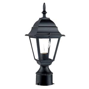 Acclaim Lighting Builders'  Choice Outdoor Lantern  - 1 Bulb - Black