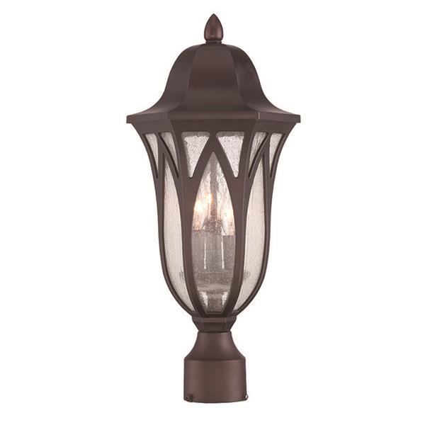 Acclaim Lighting Milano Outdoor Lantern  - 3 Bulbs - MarbleX - Bronze