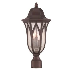 Acclaim Lighting Milano Outdoor Lantern  - 3 Bulbs - MarbleX - Bronze