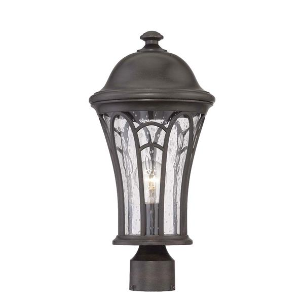 Lanterne extérieure Highgate , 1 ampoule, MarbleX, noir