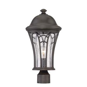 Acclaim Lighting Highgate Outdoor Lantern  - 1 Bulb - MarbleX - Black