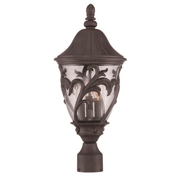 Lanterne extérieure Capri , 3 ampoules, MarbleX, noir