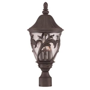 Acclaim Lighting Capri Outdoor Lantern  - 3 Bulbs - MarbleX - Black