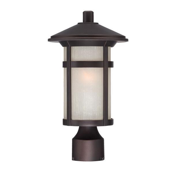 Acclaim Lighting Phoenix Outdoor Lantern  - 1 Bulb - MarbleX - Bronze