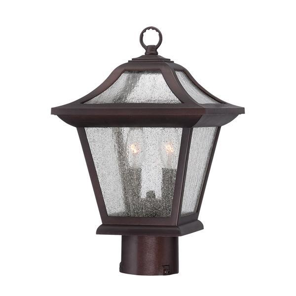 Acclaim Lighting Aiken Outdoor Lantern  - 2 Bulbs - MarbleX - Bronze