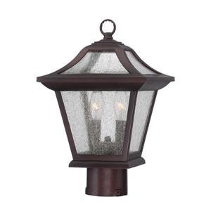 Aiken Outdoor Lantern  - 2 Bulbs - MarbleX - Bronze