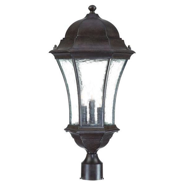 Acclaim Lighting Waverly Outdoor Lantern  - 3 Bulbs - Black
