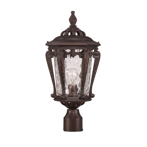 Acclaim Lighting Stratford Outdoor Lantern  - 1 Bulb - Cast aluminum - Bronze
