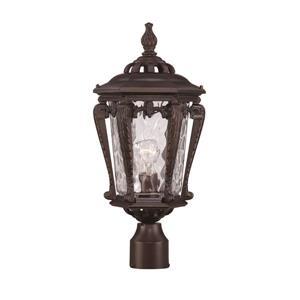 Stratford Outdoor Lantern  - 1 Bulb - Cast aluminum - Bronze